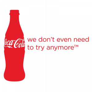 six popular brands of cola are Coca-cola used seven key design and marketing strategies, which made it as   sights on making coke the nation's most popular cola through marketing and  6  it guided word-of-mouth advertising and developed a voice.