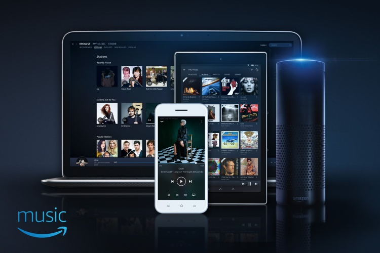 Amazon Music voice control technology image