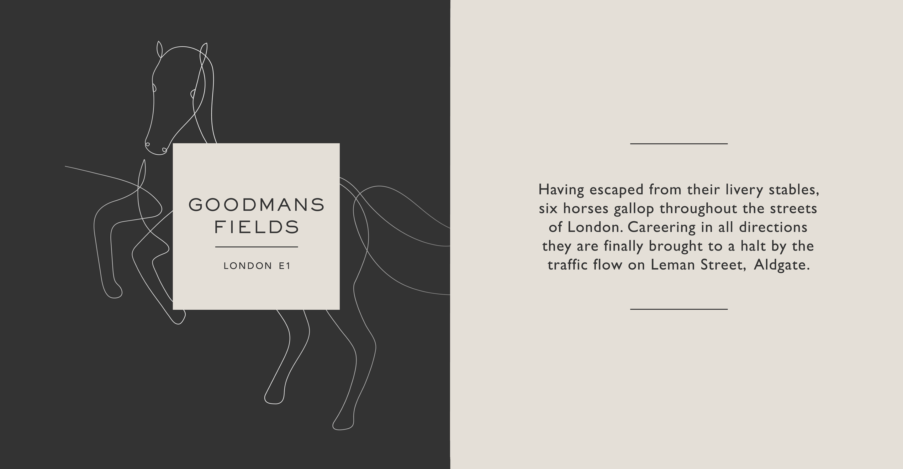 Goodmans Fields Identity and description