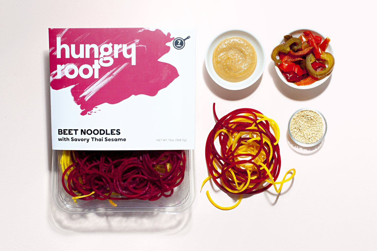 Hungry root healthy fast-food