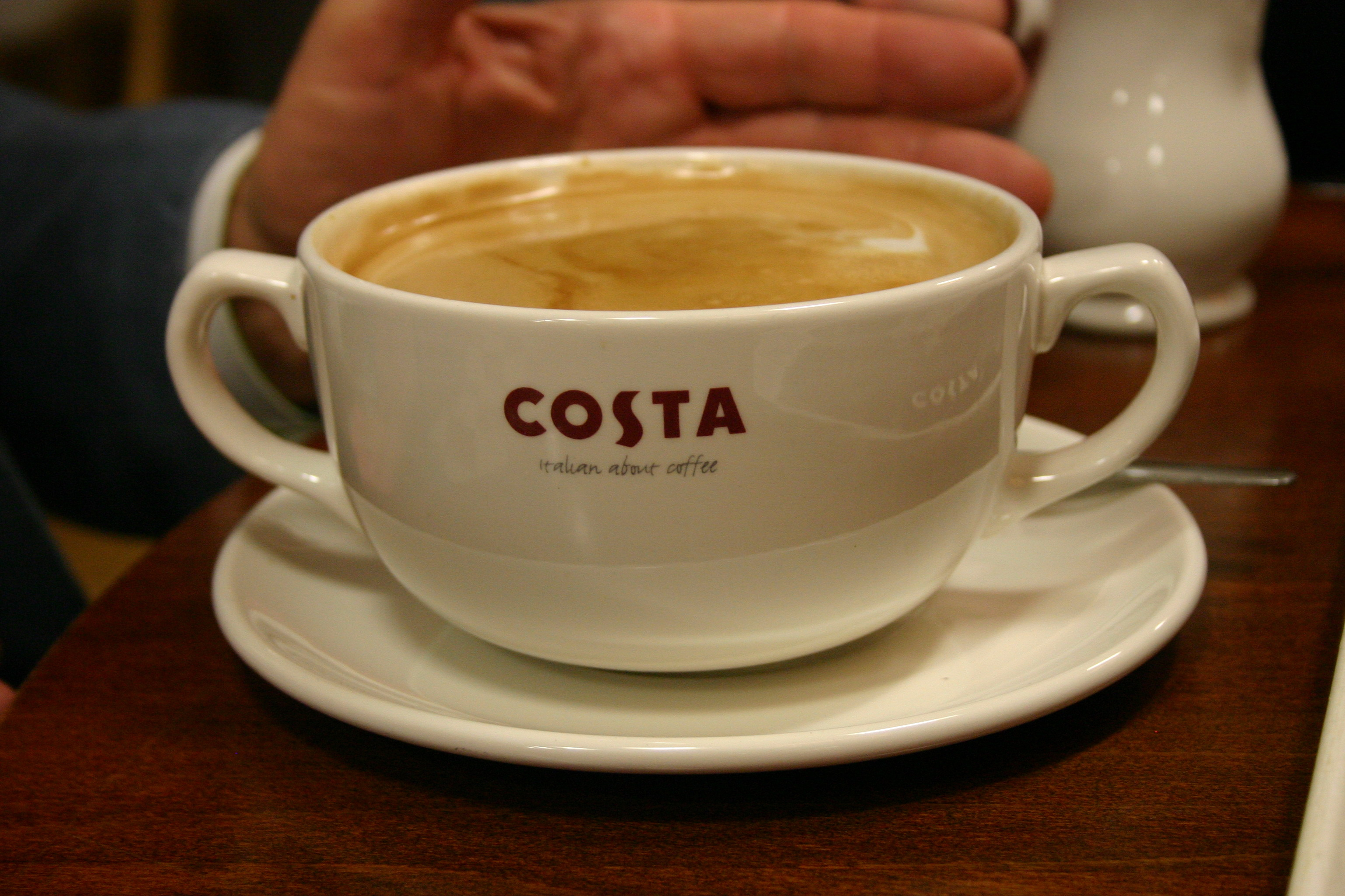 costa coffee brand promise