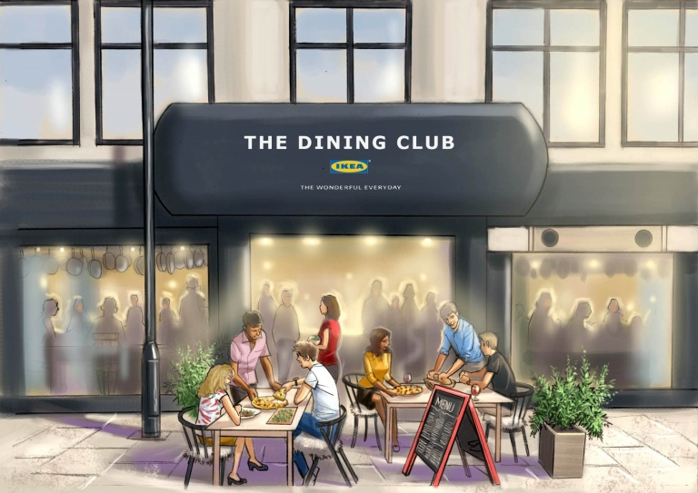 Ikea The Dining Club feature