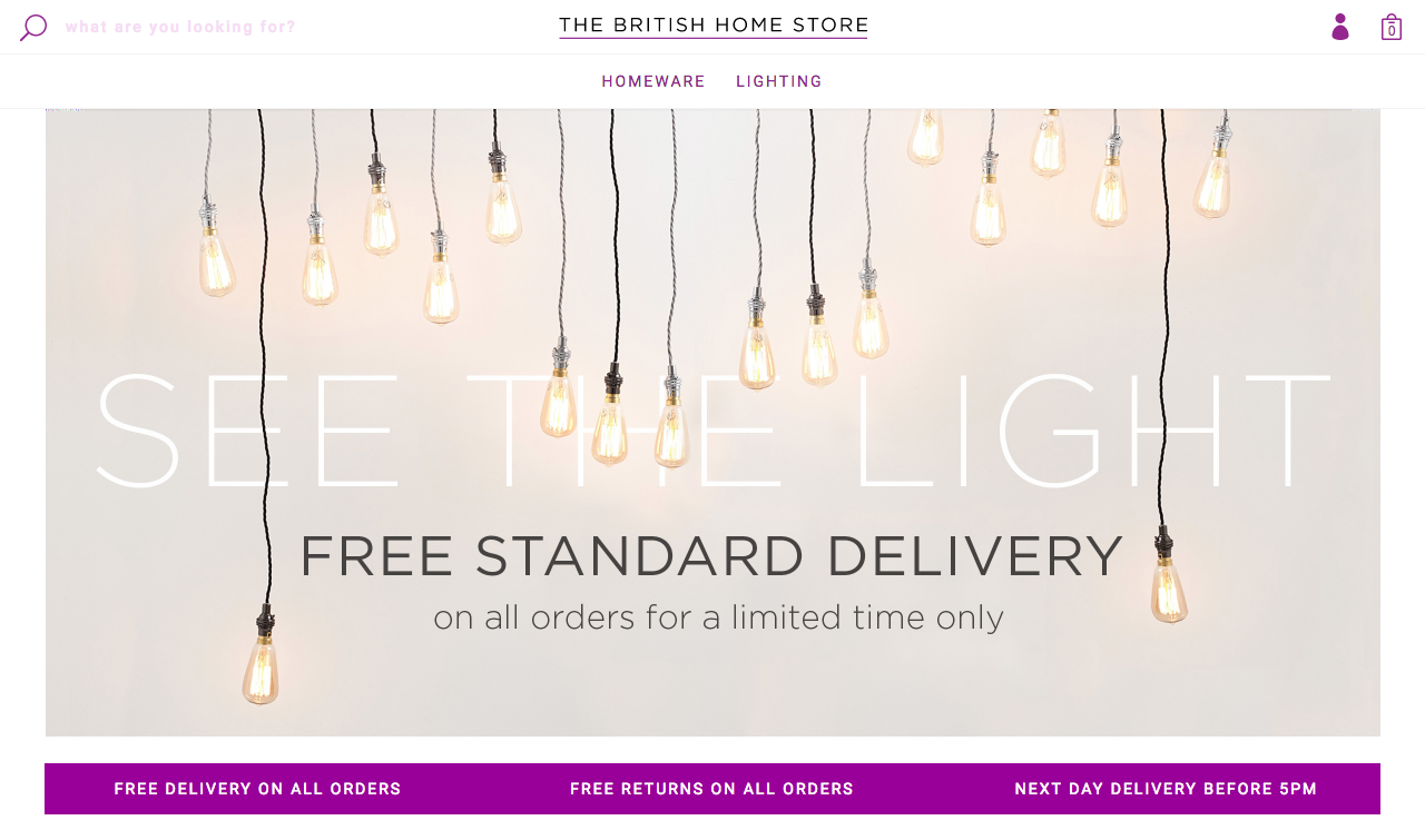 Nice British Home Store Lighting Composition - Home Decorating ...